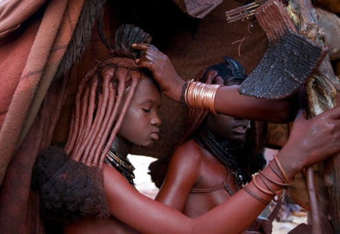 himba initiation ceremony