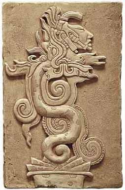 Aztec Serpent Moon Goddess