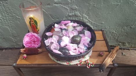 yoni eggs & rose